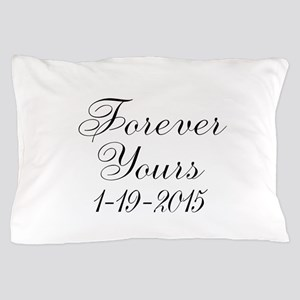 Forever Yours Personalizable Pillow Case