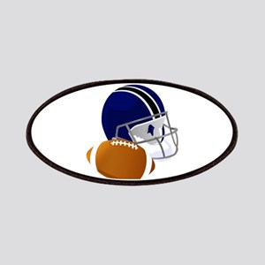Football Helmet and ball Patch