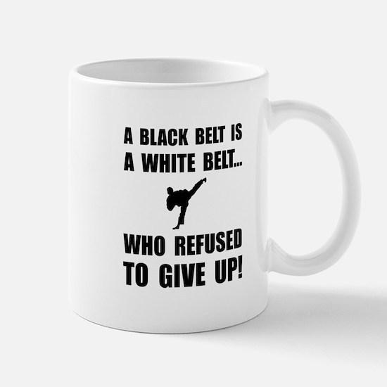 Black Belt Refusal Mugs