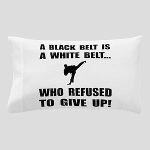 Black Belt Refusal Pillow Case