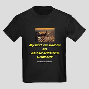 AC130 Specter Gunship Kids Dark T-Shirt