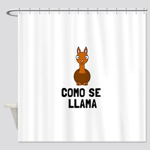 Como Se LLama Shower Curtain