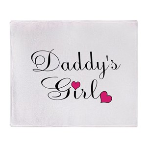 Daddys Little Girl Blankets Cafepress