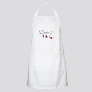 Daddys Girl Pink Hearts Apron