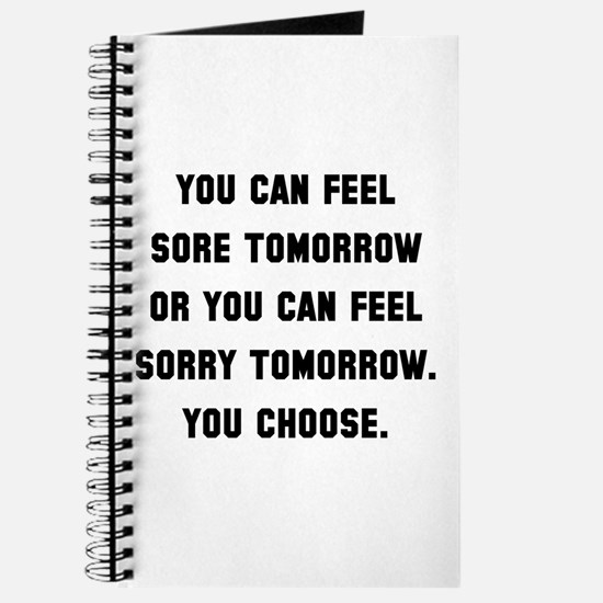 Sore Or Sorry Journal