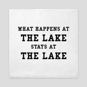 Happens At Lake Queen Duvet