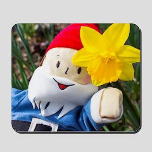 Daffodil Gnome Mousepad