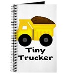 Tiny Trucker Yellow Dump Truck Journal