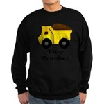 Tiny Trucker Yellow Dump Truck Sweatshirt