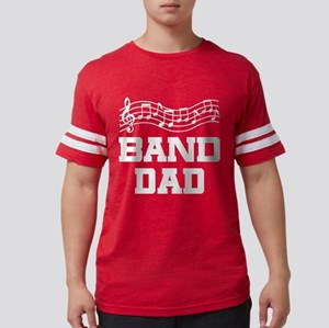 Band Dad Music Staff T-Shirt