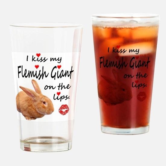 Funny Flemish Drinking Glass