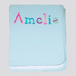 Amelie Princess Balloons baby blanket