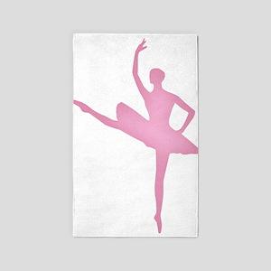Pink Ballerina Area Rug