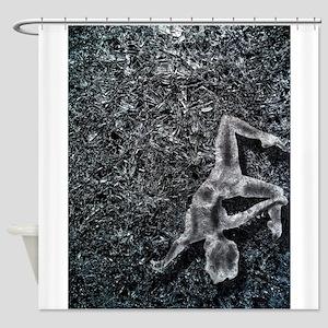 Ice Dancer Shower Curtain