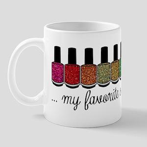 My Favorite Color Is Glitter Mug