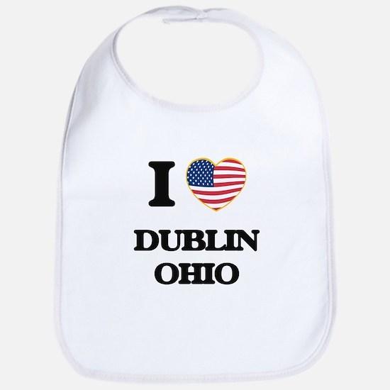 I love Dublin Ohio Bib