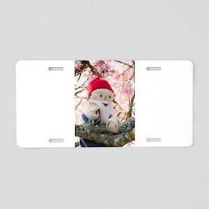 Gnome Portrait II Aluminum License Plate