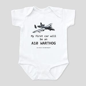 """A10 """"Warthog"""" Infant Bodysuit"""