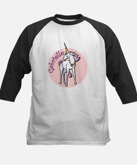 Gabrielle Unicorn Kids Baseball Jersey