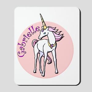 Gabrielle Unicorn Mousepad
