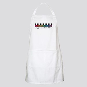 My Favorite Color Is Glitter Apron