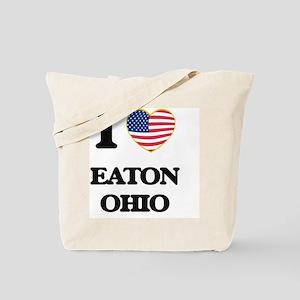 I love Eaton Ohio Tote Bag