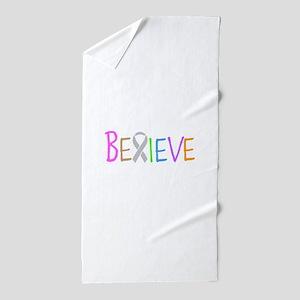 Believe Beach Towel