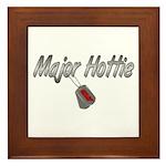 USAF Major Hottie ver2 Framed Tile
