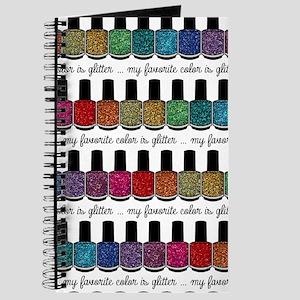 My Favorite Color Is Glitter -Medium Journal