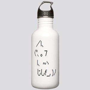 Text cat Stainless Water Bottle 1.0L