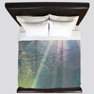 Trees of the Enchanted Forest King Duvet
