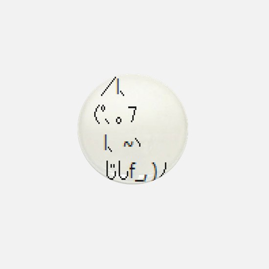 Text cat Mini Button