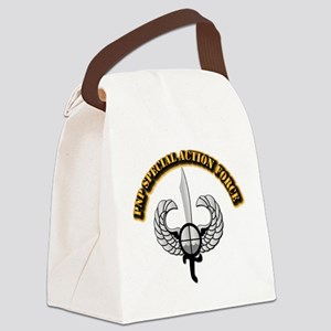 PNP Special Action Force Canvas Lunch Bag