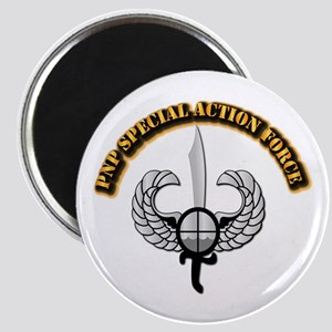 PNP Special Action Force Magnet