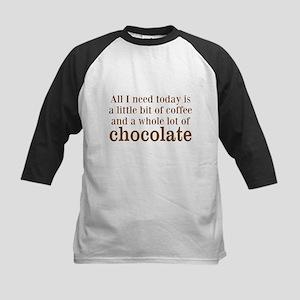Lot of Chocolate Baseball Jersey