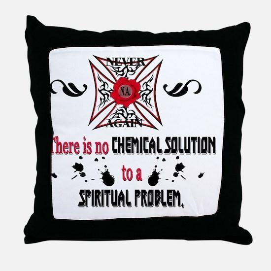 Narcotics Anonymous Throw Pillow