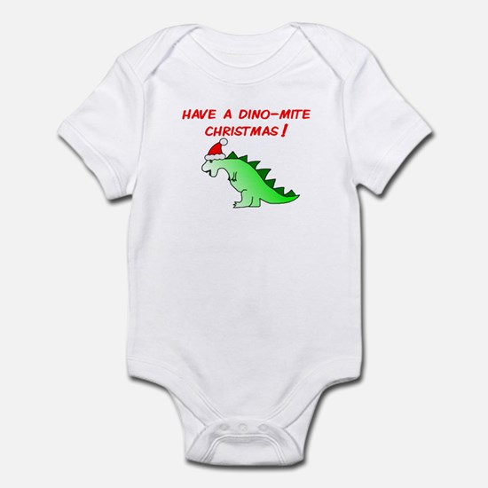 DINO-MITE CHRISTMAS Infant Bodysuit