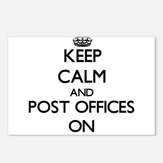 Keep Calm and Post Office Postcards (Package of 8)