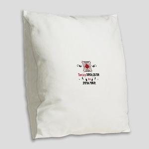 Narcotics Anonymous Burlap Throw Pillow