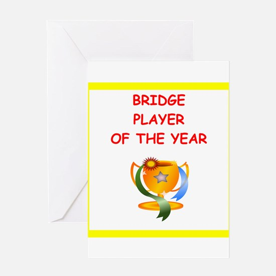 a funny bridge joke on gifts and t-shirts. Greetin