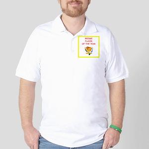 a funny bridge joke on gifts and t-shirts. Golf Sh