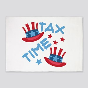 Tax Time 5'x7'Area Rug