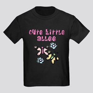 Cute Little Allee Kids Dark T-Shirt