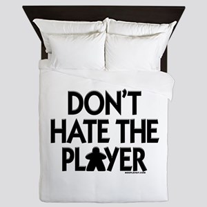 Don't Hate the Player Queen Duvet