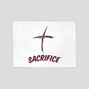 Sacrifice 5'x7'Area Rug