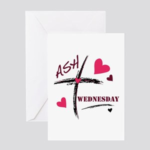 Ash wednesday greeting cards cafepress ash wednesday greeting cards m4hsunfo