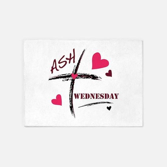Ash Wednesday 5'x7'Area Rug
