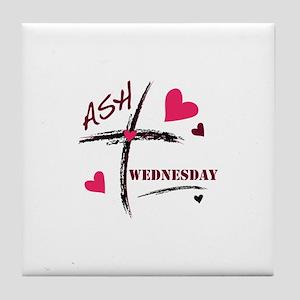 Ash Wednesday Tile Coaster