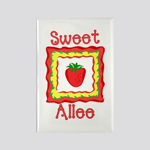 Sweet Allee Rectangle Magnet