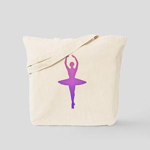 Ballerina Sillouette Tote Bag